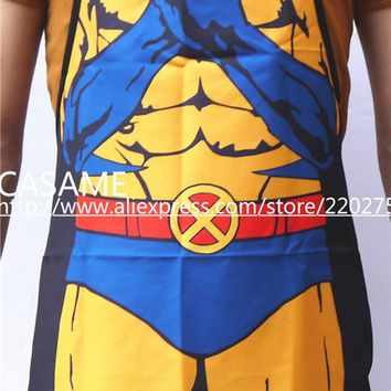 Wolverine X-men, cos-play,Funny adults Costume Character  aprons, Cooking, party Apron