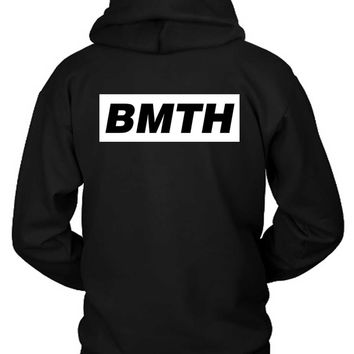 Bring Me The Horizon Simple Bmth Title Hoodie Two Sided