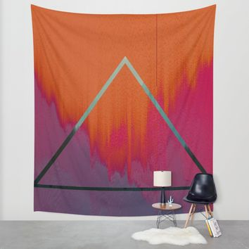 Clear as Day Wall Tapestry by Ducky B