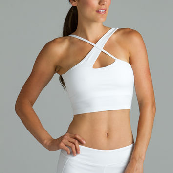 Warrior Victoria Crop Top (White)