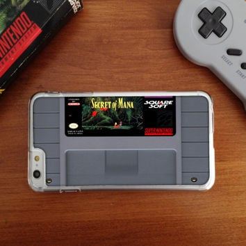SNES Super Nintendo Cartridge, Many games to choose from, Custom Phone Case for iPhone 4/4s, 5/5s, 6/6s, 6/6s+ and iPod Touch 5