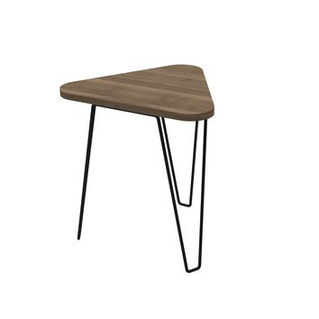 Fleming End Table Mocca Walnut
