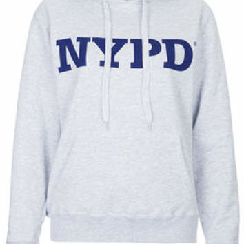 NYPD HOODIE BY TEE AND CAKE