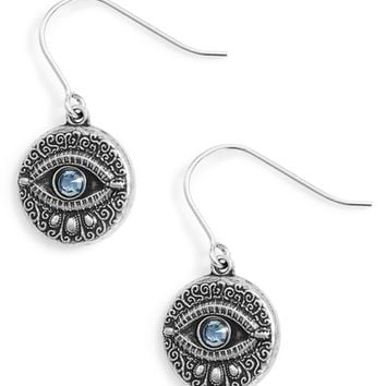 Alex and Ani Evil Eye Earrings | Nordstrom