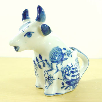 Vintage Ceramic Cow Coffee Creamer - Baum Bros Formalities