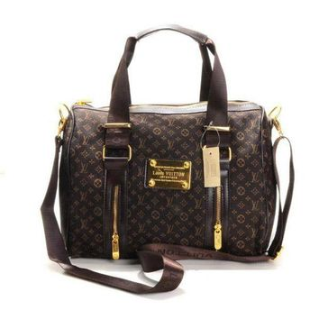 ONETOW Louis Vuitton LV Women Fashion Leather Travel Luggage Tote Handbag Shoulder Bag