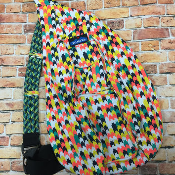 Monogrammed Kavu Rope Bags - Candy Stars