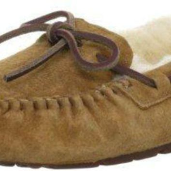 DCCK1IN UGG Women's Dakota Moccasin ugg snow boots