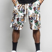 Tropical Tiger Basketball Shorts JS37 - GG6F