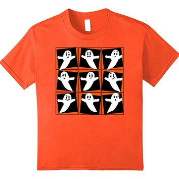 Nine Ghosts Pop Art T-shirt by Scarebaby