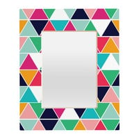 Vy La Love Triangle Rectangular Mirror