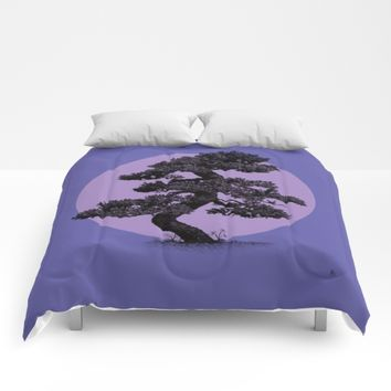 Lavender Night Comforters by DuckyB