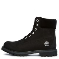 "The Timberland 6"" Premium Nubuck and Velvet in Black"
