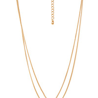 Minimalist Geo Layered Necklace