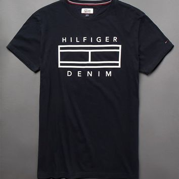 Tommy Hilfiger Denim Navy T-Shirt at PacSun.com