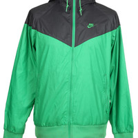 Nike Green & Grey Windbreaker Jacket | Retro Sportswear | Rokit Vintage Clothing