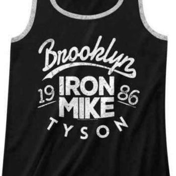 Mens Mike Tyson Iron Mike Tank Top
