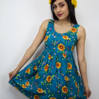 Rise and Shine Vintage Dress