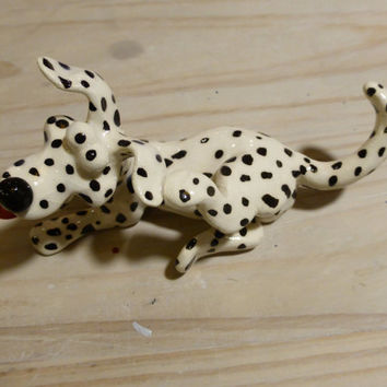 White and black dog ,Dalmatian dog, dog sculpture ,white dog with black dots ,pets , ,faithful companion