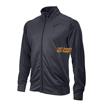 Nike Golf Therma-Fit Full-Zip Stay Warm Men's Jacket (Charcoal Gray, X-Large)