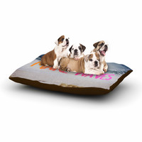 "Chelsea Victoria ""Make Waves"" Pink Photography Dog Bed"