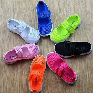 Choice of Boys or Girls Breathable Summer Mesh Shoes