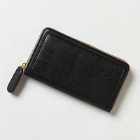 Leather Daisy Stem Wallet