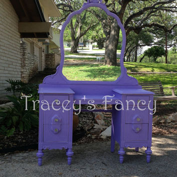 Wisteria -Vintage Vanity MADE TO ORDER