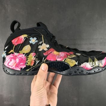 [Free Shipping ]Nike Air Foamposite One Plum Blossom 314996-012 Basketball Shoes