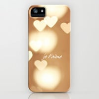 je t'aime iPhone & iPod Case by Ylenia Pizzetti