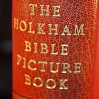1954 Holkham Bible Picture Book, Highly Collectible Book, First Edition Reproduction Of Fourteenth Century Book