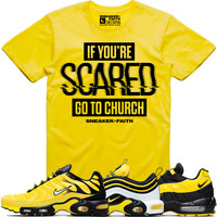 SCARED Sneaker Tees Shirt - Nike Air Max Frequency Pack Bumble Bee