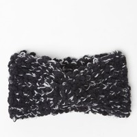 LA Hearts Marled Slub Headwrap - Womens Hat - Black - One
