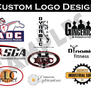 Custom Logo Design for your Business, Organization or Etsy Shop Professional Design Branding