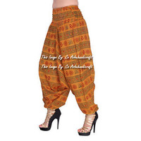 Gypsy Hippie Aladdin Baggy Indian Women Trousers Boho Yoga Casual Harem Pants 07
