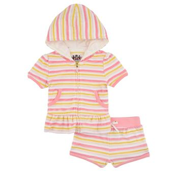 BABY FASHION TRACK WANDERLUST STRIPE 2PC TRACK SET