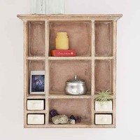 Ceramic Curio Shelf