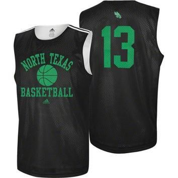 adidas North Texas Mean Green #13 College Basketball Practice Jersey