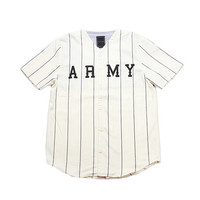 I Love Ugly Army Baseball Jersey (Off White)