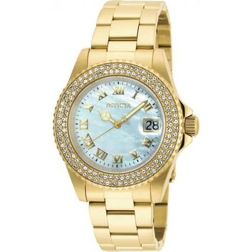 Invicta Women's 20364 Sea Base Quartz 3 Hand White Dial Watch