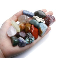 18 pc Smooth Energy Healing Stones - Chakra Crystals