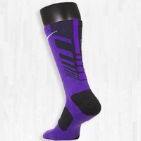 Purple and Black Nike Elite Sequalizer Socks | Rock 'Em Apparel