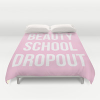 Beauty School Dropout - Grease Inspired Duvet Cover by Rachel Additon