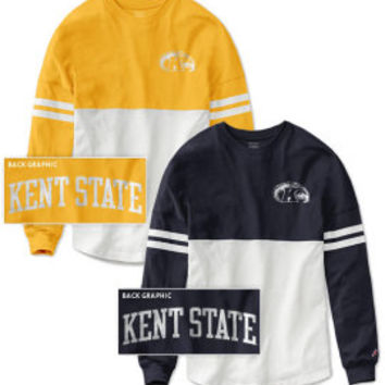 Kent State University Women's Color Block RaRa Long Sleeve T-Shirt | Kent State University