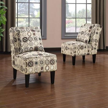 Handy Living Dani Armless Accent Chair