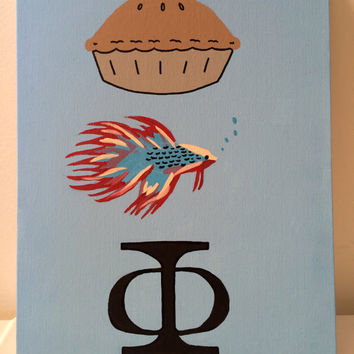 Pie Beta Phi Canvas