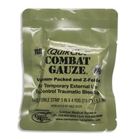 QuikClot Combat Gauze, Z-Fold (Military Use Only) | www.chinookmed.com