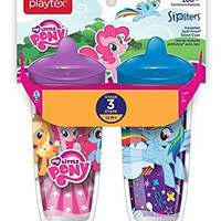 Playtex Sipsters Stage 3 My Little Pony Infant Cups - 2 Pack - Assorted (Color/Theme May Vary)