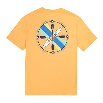 Kayak Compass SS in Bluff by The Southern Shirt Co..