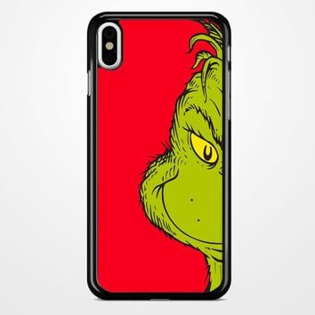 You Re A Mean One Mr Grinch iPhone X Case